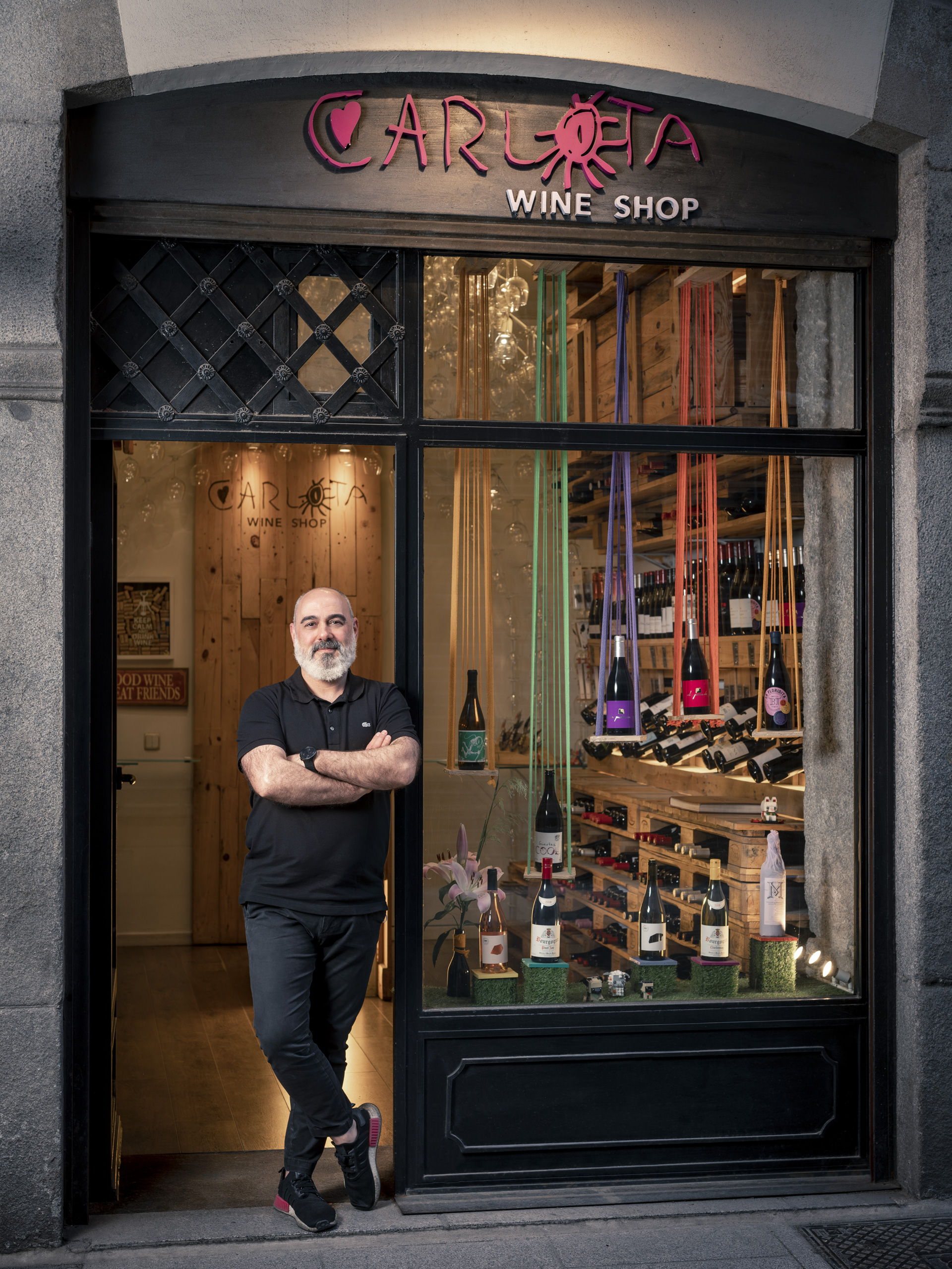 carlota wine shop tienda de vinos en madrid chueca